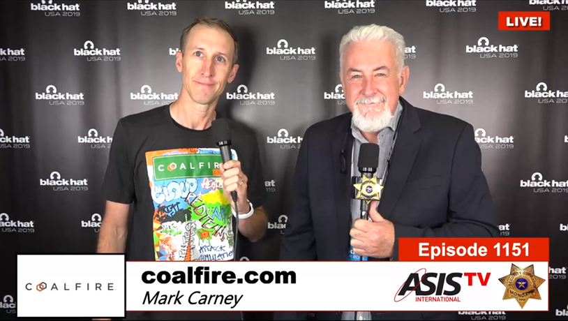 Security Guy TV's Interview with Mark Carney at Black Hat USA 2019